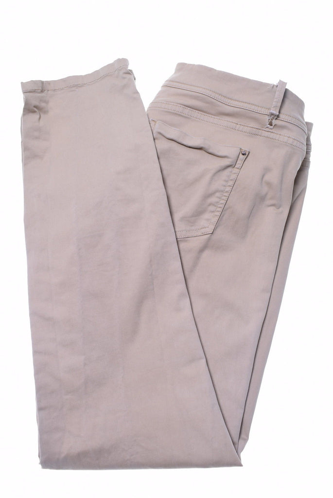 MASSIMO DUTTI Womens Trousers W32 L30 Beige - Second Hand & Vintage Designer Clothing - Messina Hembry