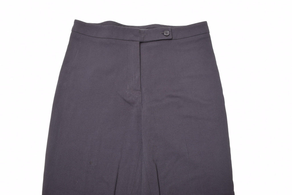 PATRIZIA PEPE Womens Trousers W28 L30 Black Viscose Wool . - Second Hand & Vintage Designer Clothing - Messina Hembry