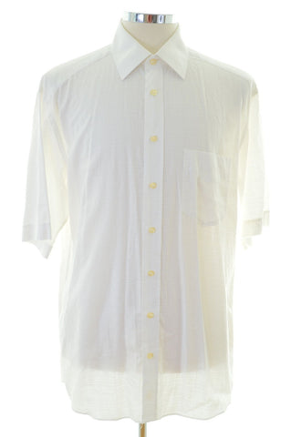 Daniel Hechter Mens Shirt Size 42 Large White