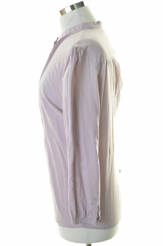 Kew Womens Top Blouse Size 14 Large Purple Cotton - Second Hand & Vintage Designer Clothing - Messina Hembry