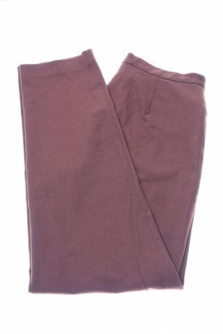 RALPH LAUREN Womens Trousers W34 L30 Brown Cotton