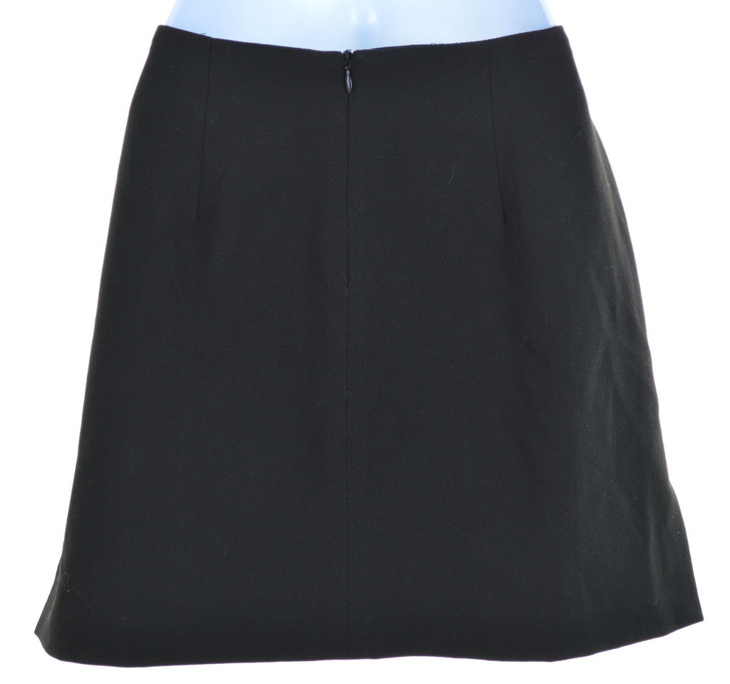 MAXAZRIA Womens Skirt W28 L16 Black Polyester - Second Hand & Vintage Designer Clothing - Messina Hembry