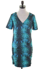 REISS Womens Basic Dress Size 10 Small Multi Polyester