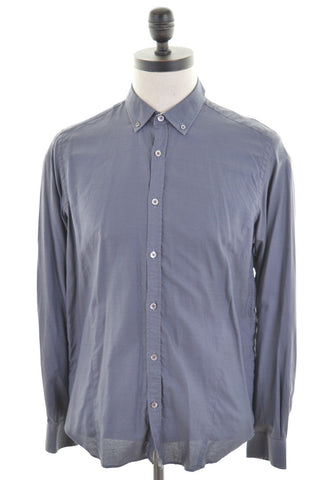 TED BAKER Mens Shirt Small Grey Cotton