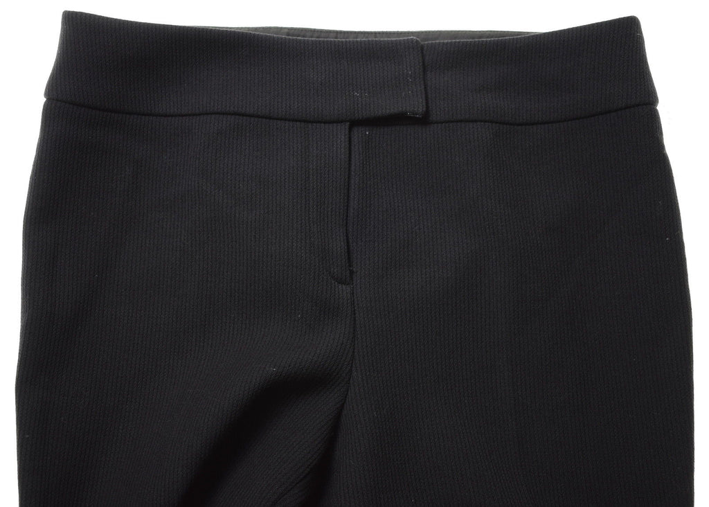 ICEBERG Womens Trousers W30 L32 Black - Second Hand & Vintage Designer Clothing - Messina Hembry