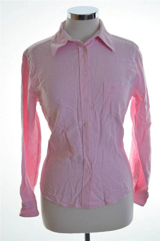 Daniel Hechter Womens Shirt Size 34 Small Pink Cotton
