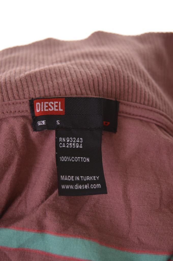 Diesel Womens Top Small Brown Cotton - Second Hand & Vintage Designer Clothing - Messina Hembry