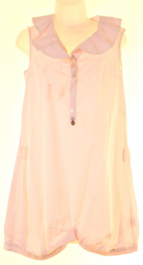 PATRIZIA PEPE FIRENZE Girls A-Line Dress 13-14 Years White Cotton - Second Hand & Vintage Designer Clothing - Messina Hembry