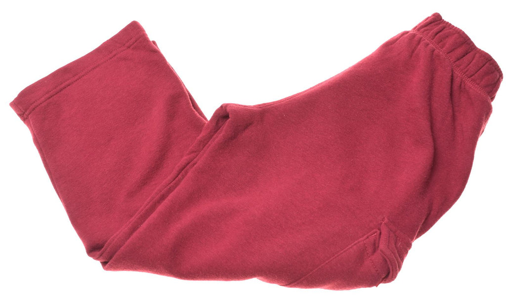 STARTER Boys Tracksuit Trousers 4-5 Years XS Maroon Cotton - Second Hand & Vintage Designer Clothing - Messina Hembry