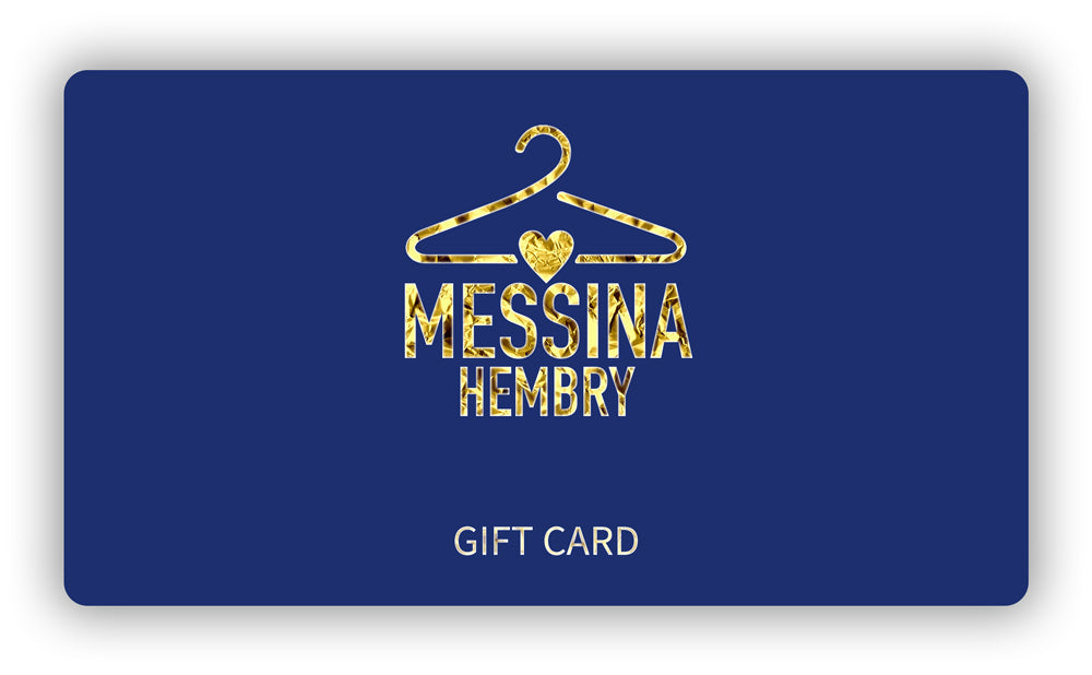 Messina Hembry Gift Card - Second Hand & Vintage Designer Clothing - Messina Hembry