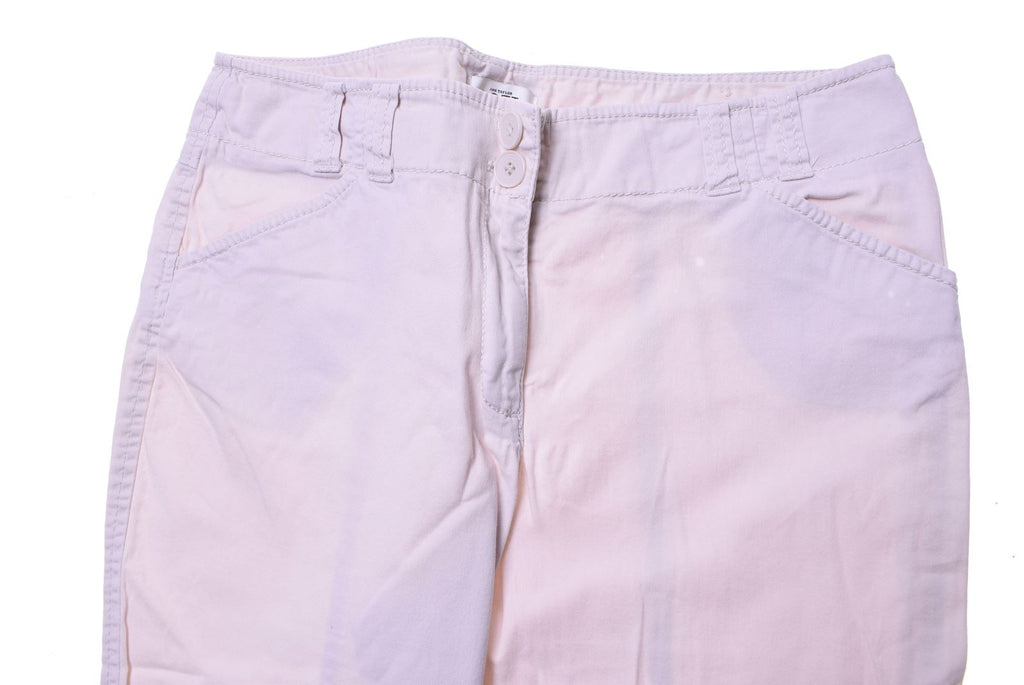 ANN TAYLOR LOFT Womens Shorts W28 White Cotton - Second Hand & Vintage Designer Clothing - Messina Hembry