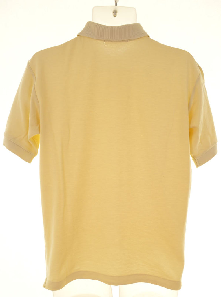 FILA Mens Polo Shirt IT 46 Small Yellow - Second Hand & Vintage Designer Clothing - Messina Hembry