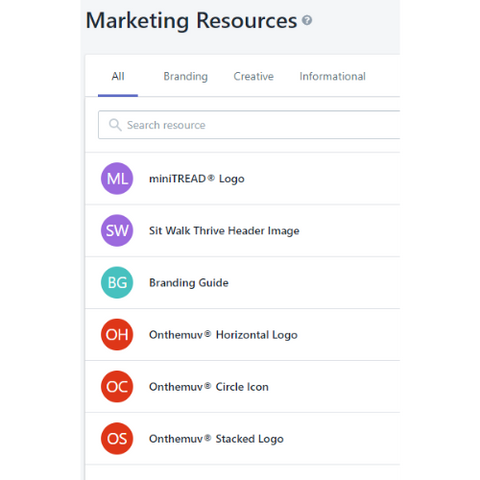 MArketing resources images