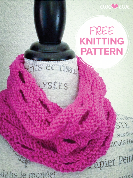 Holy Cowl! free worsted weight knitting pattern