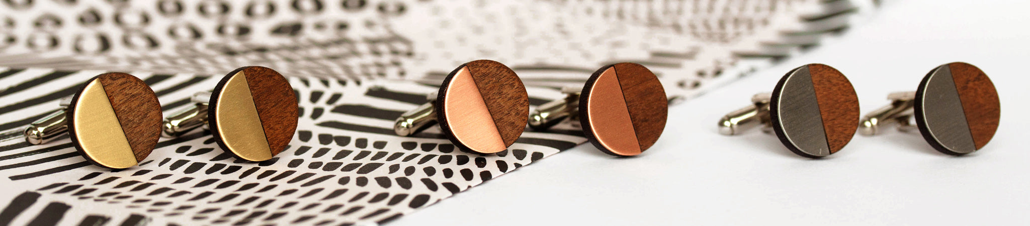 Turpentine Cufflinks