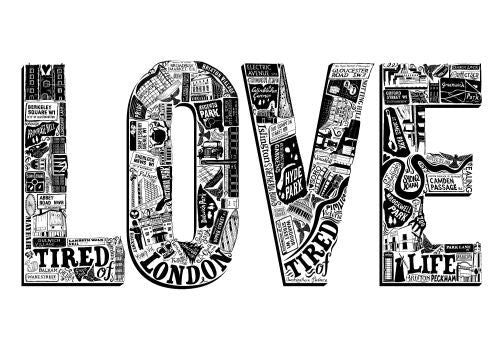 Love London Print A2 Lucy Loves This