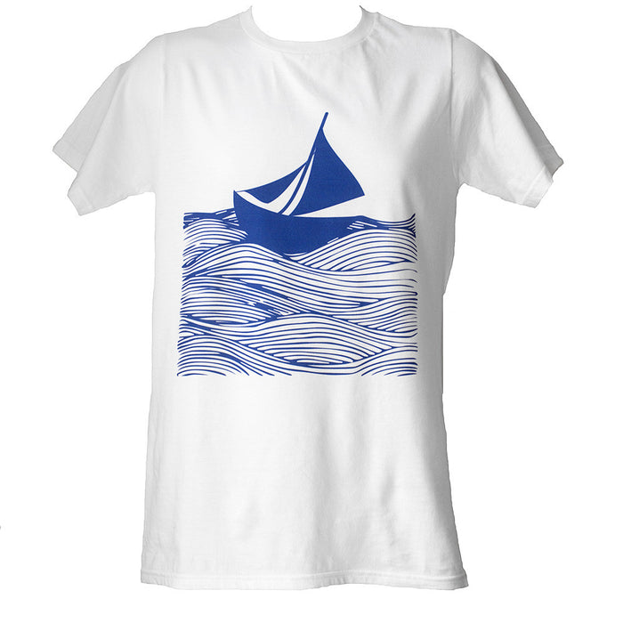 Sail Away Screen Printed T-shirt