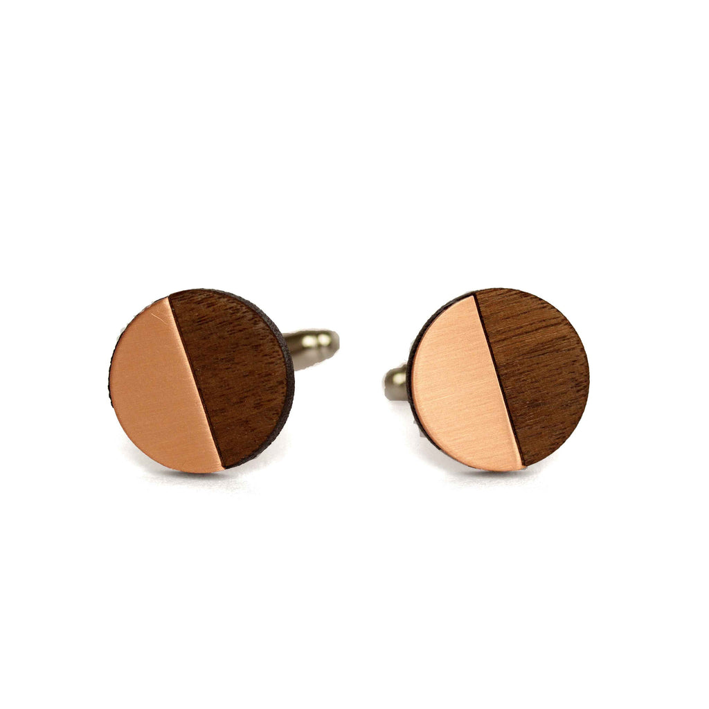 James Cufflinks Copper