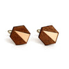 Metal Adam Cufflinks Copper