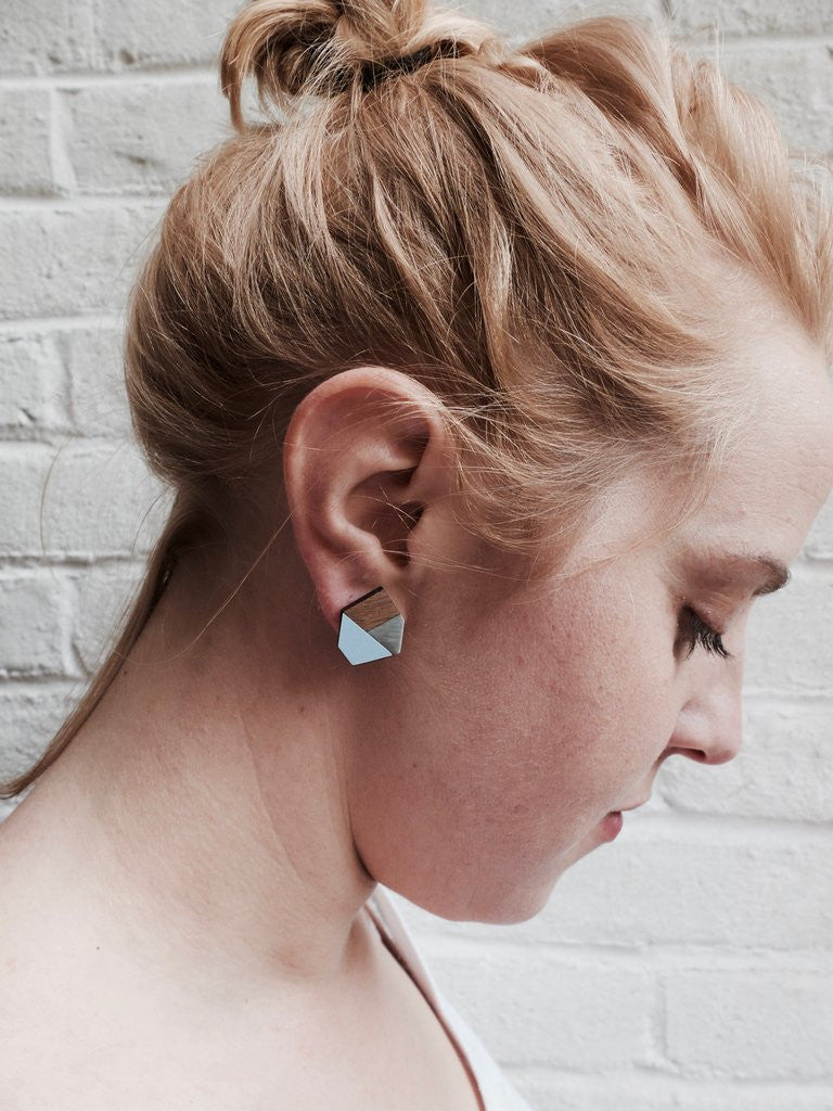 Aquamarine 'Gwen' Earrings