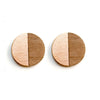 Metal Francesca Studs Copper