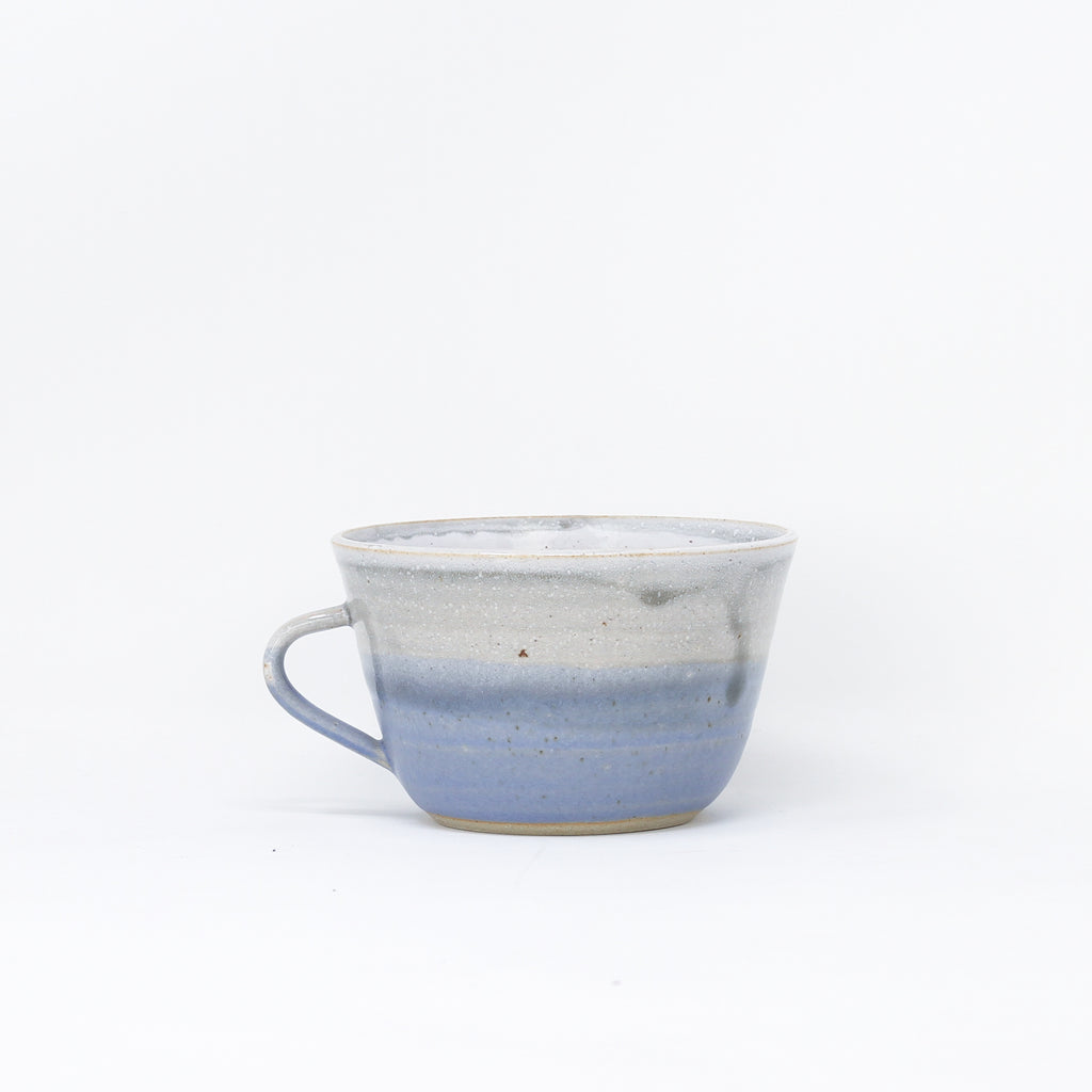 'Dinky Cup - Sea Dawn' hand thrown cups by Libby Ballard.