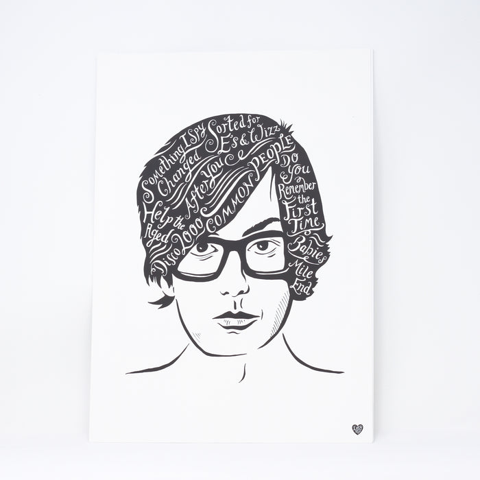 'Jarvis' print by Lucy Loves This.