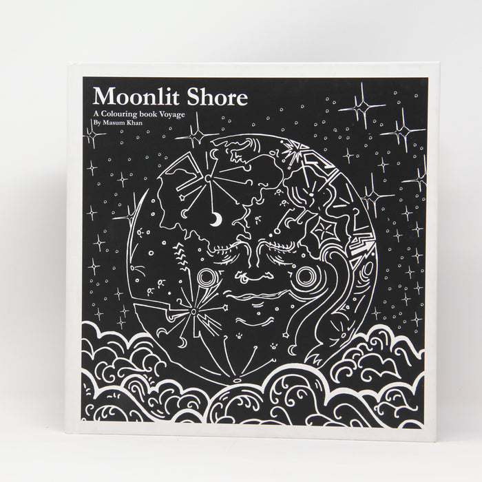 Moonlit Shore Colouring in Book
