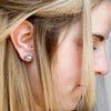 Metal Elsa Studs Copper