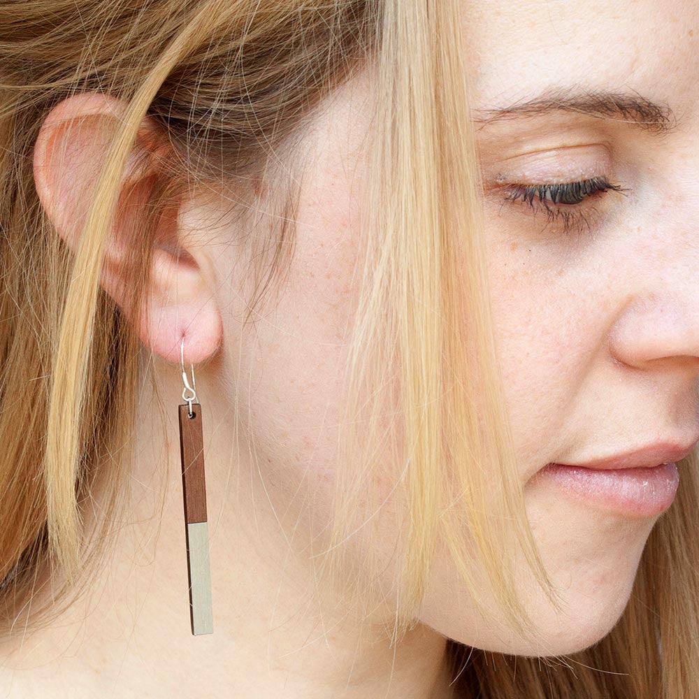Metal Zelda Copper Earrings