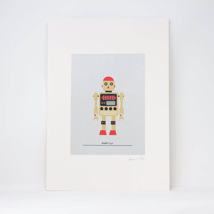 Robot fig. 4 Screenprint