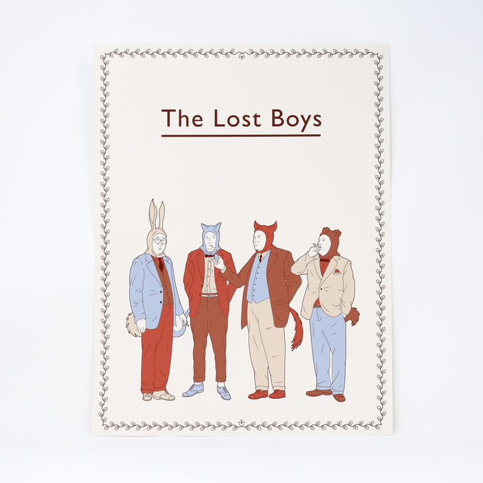 'The Lost Boys' limited edition by Robbie Porter.