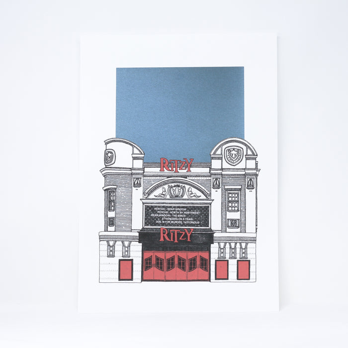 'The Ritzy' giclee print by Thomas Radclyffe.