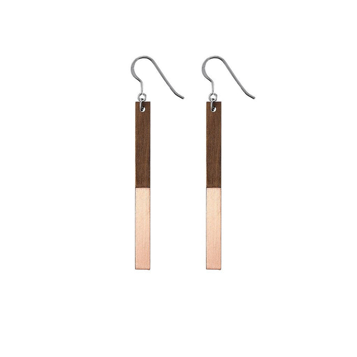 Copper 'Zelda' Earrings