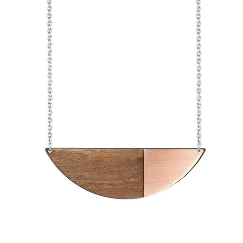 Metal Alexandra Necklace Copper