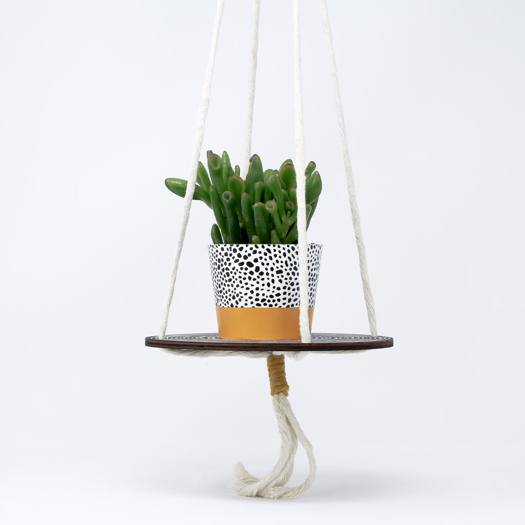 'Plant Hanger' with plant pot by Studio Wald.