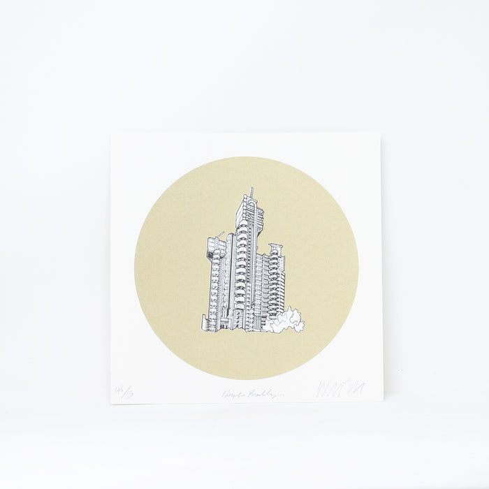 'Lloyds Building' limited edition by Will Clarke.