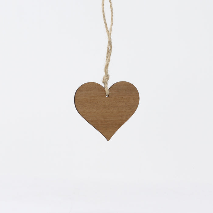 Walnut Heart Decoration