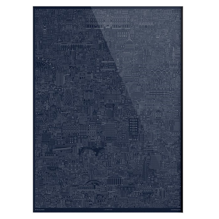 London Cityscape Poster