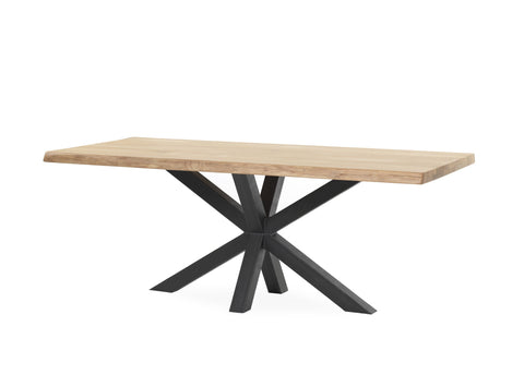 Tafel SUPERSTAR EIKEN BOOMSTAMBLAD SPINPOOT METAAL