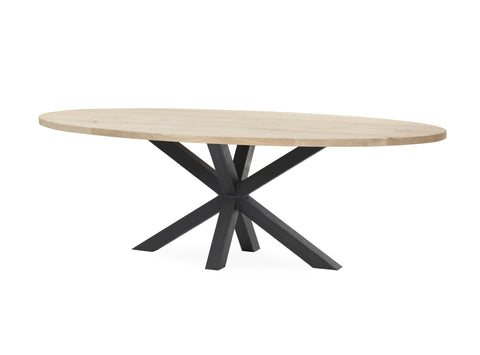 Tafel SUPERSTAR OAK ovaal