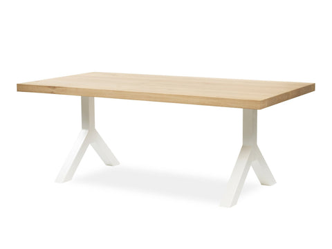 Tafel YKE OAK white