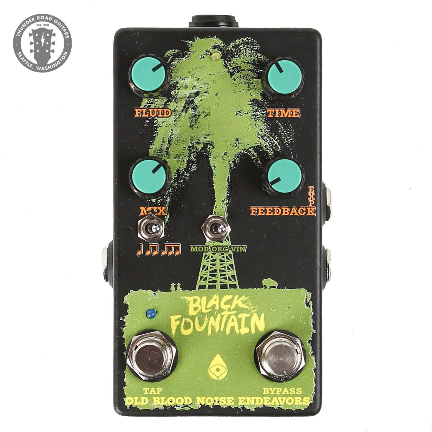 Old Blood Noise Endeavors TRG Exclusive Black Fountain!! image 2