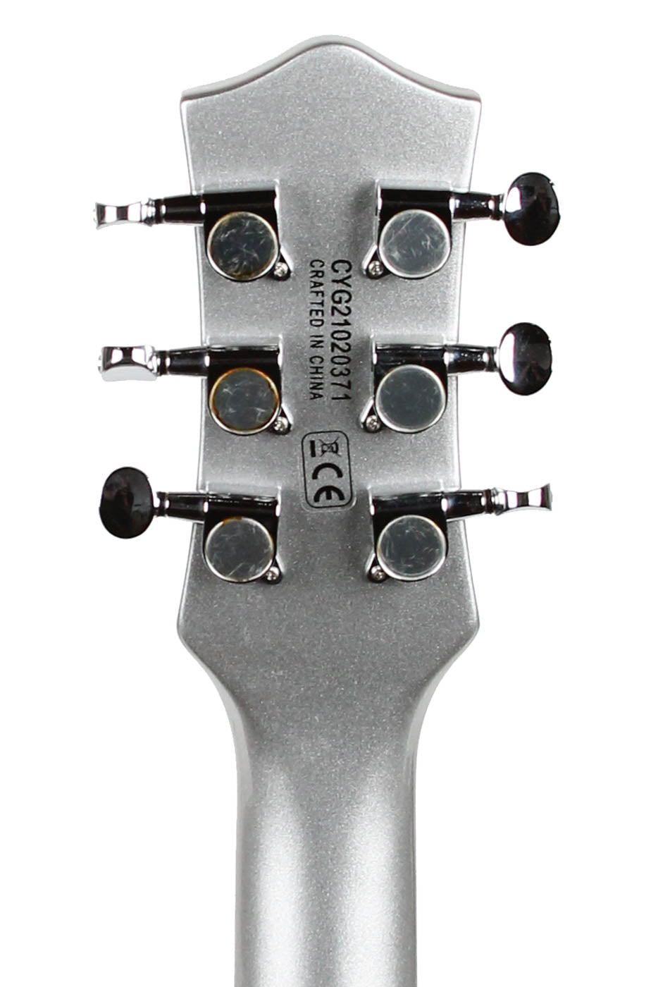 2021 Gretsch G5260T Electromatic Jet Baritone Airline Silver image 4