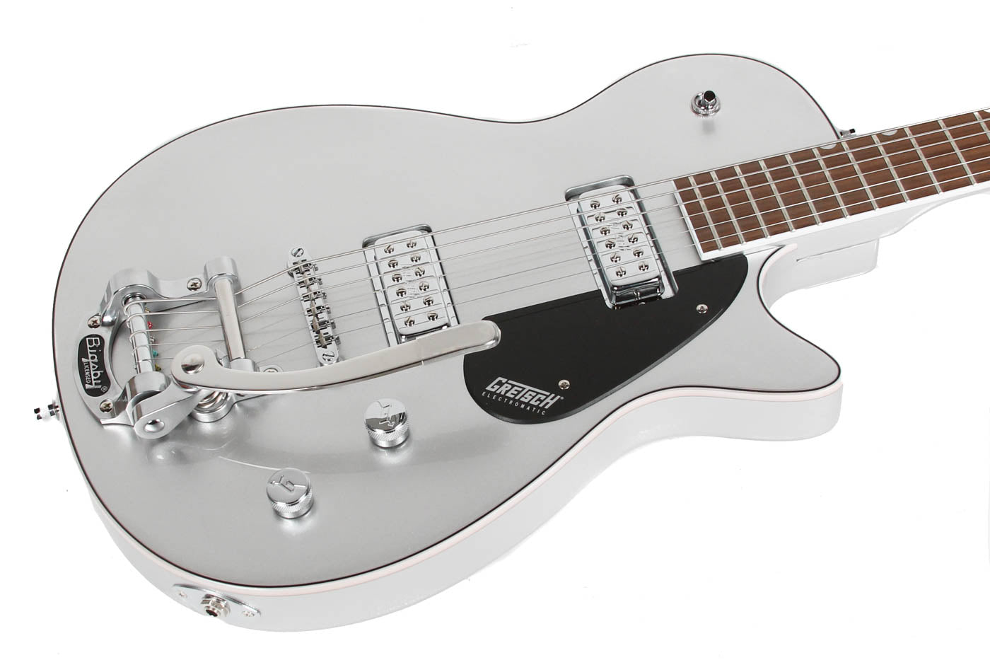 2021 Gretsch G5260T Electromatic Jet Baritone Airline Silver image 6