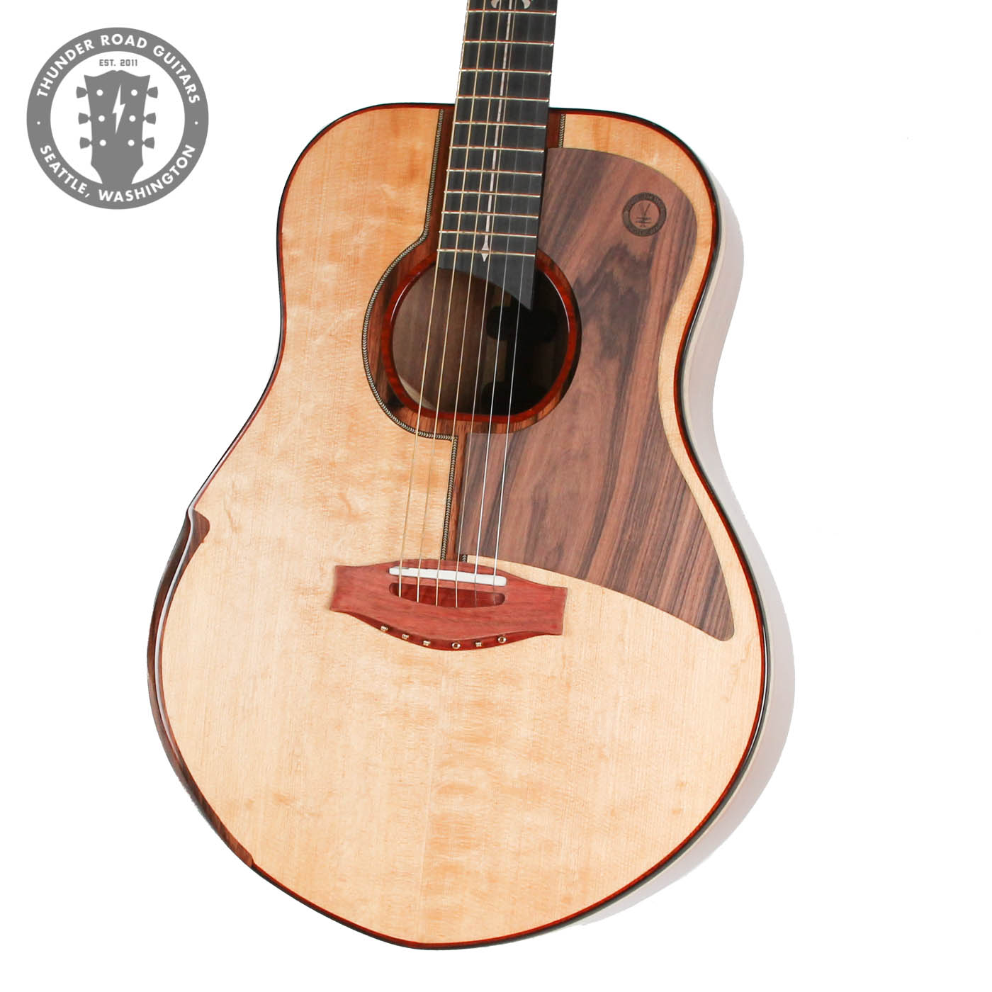 Yzzy Y-010 Handmade Acoustic Natural image 2
