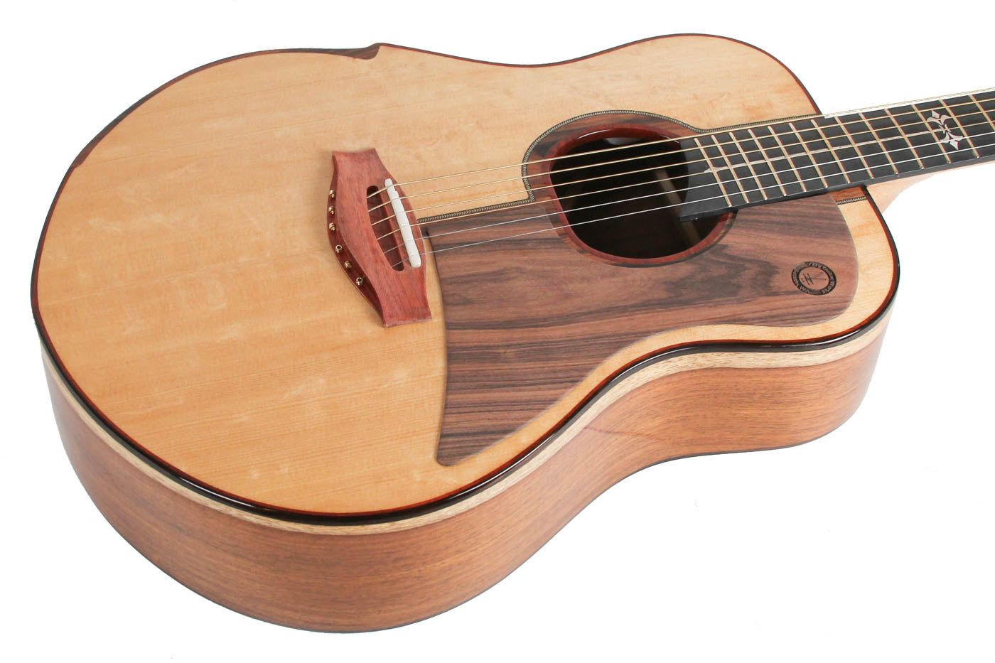 Yzzy Y-010 Handmade Acoustic Natural image 6