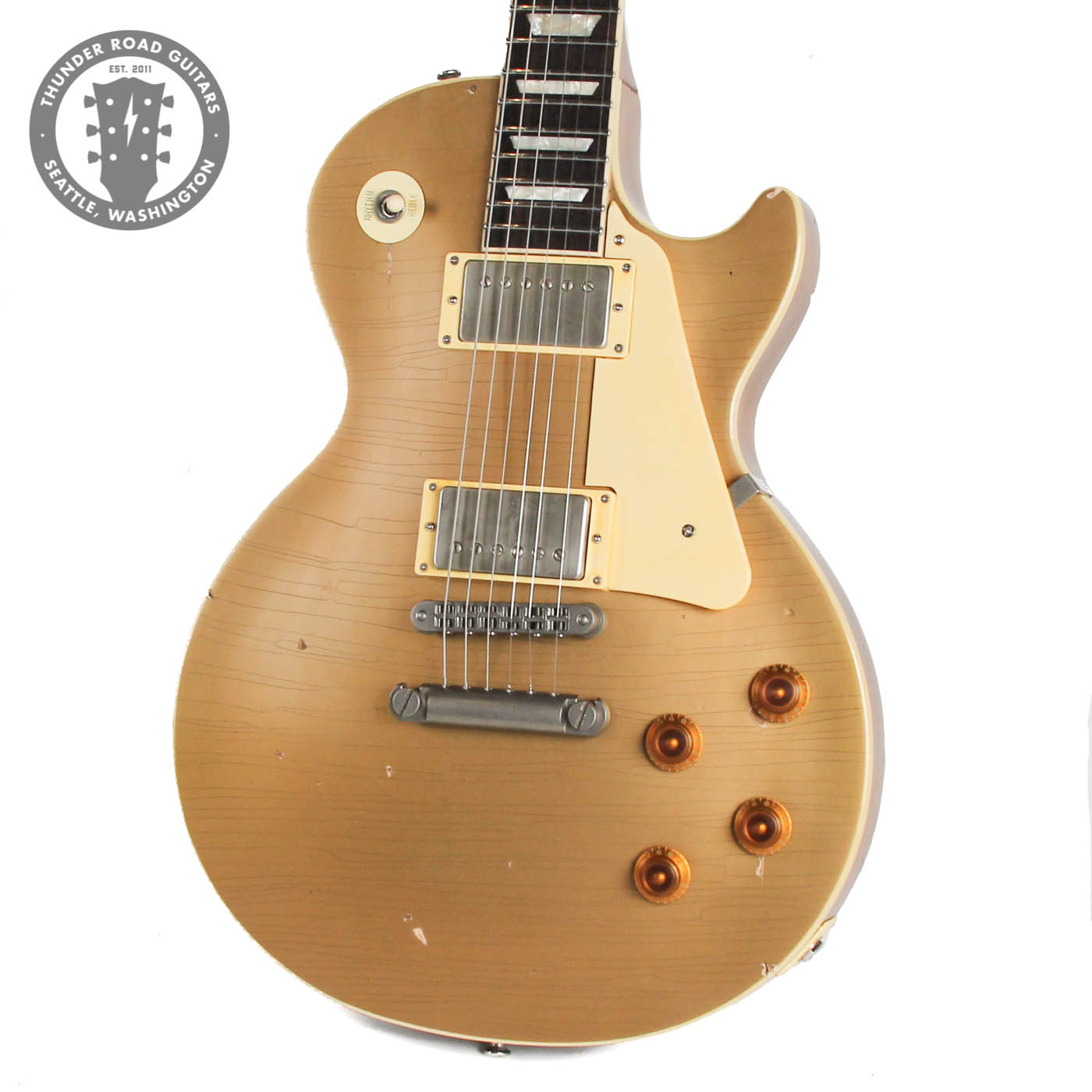 Gibson Les Paul Classic Nash Aged Goldtop Conversion image 2