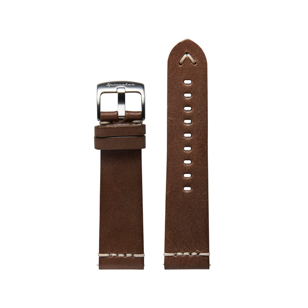 Marino Italian Made Leather Strap -22mm