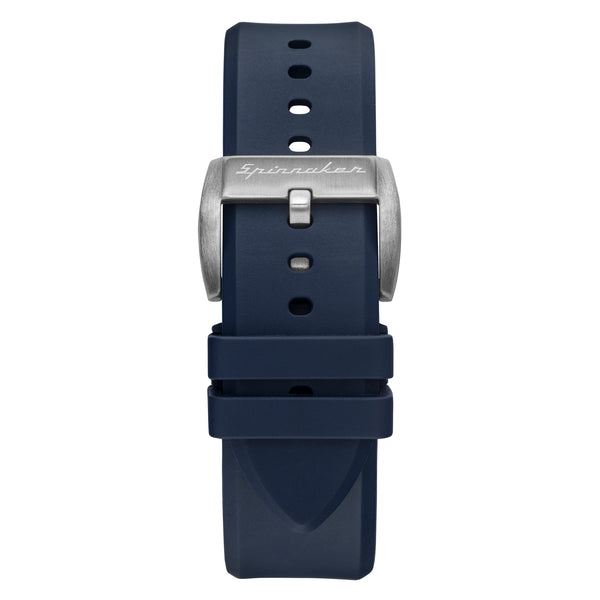 Flat Edged Rubber Strap - 22mm